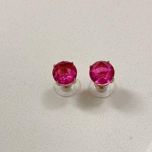 Kate Spade Round Gumdrop Stud Earrings Pink